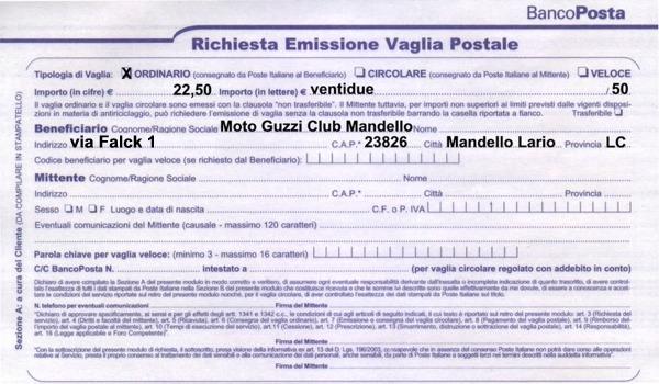 Rinnovo iscrizione al club for Causale bonifico ristrutturazione 2017